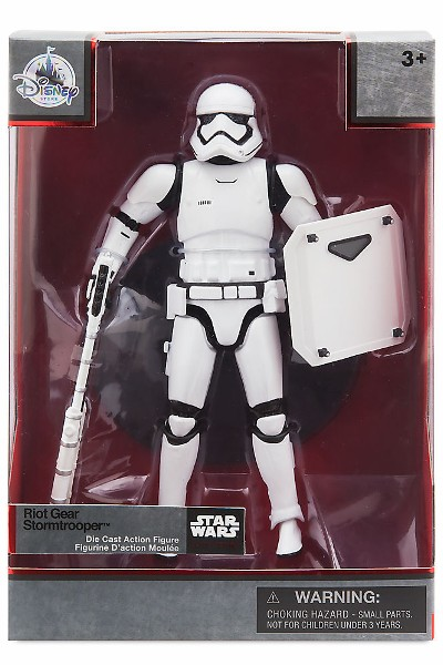 Hasbro Star Wars Elite Series Die Cast Riot Gear Stormtrooper